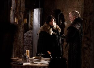 Jon-Snow-and-Jeor-Mormont-house-stark-24504813-786-575